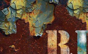 Distressed Texture Fotobehang
