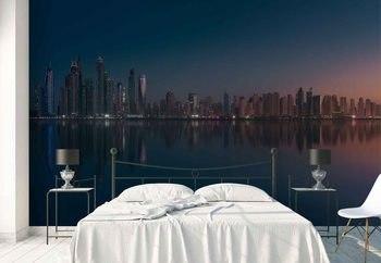 Dubai Marina Skyline Fotobehang