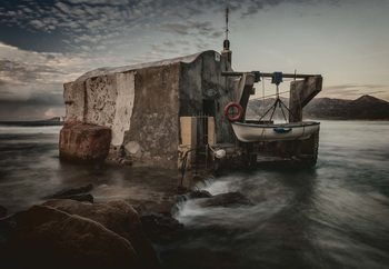 Fisherman's Hut Fotobehang