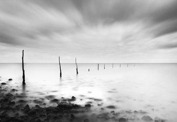Fishermens Sticks Fotobehang