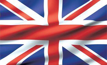 Flag Great Britain UK Fotobehang