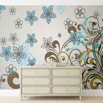 Floral Pattern Fotobehang