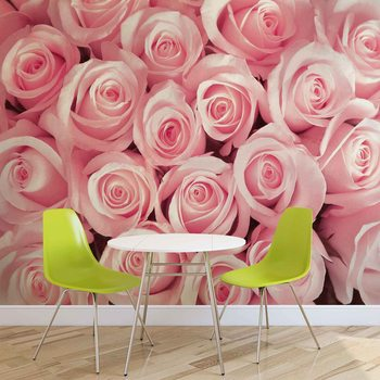 Flowers Roses Fotobehang