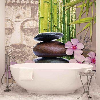 koop zen boeddhisme fotobehang van. Black Bedroom Furniture Sets. Home Design Ideas