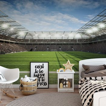Football Stadium Fotobehang