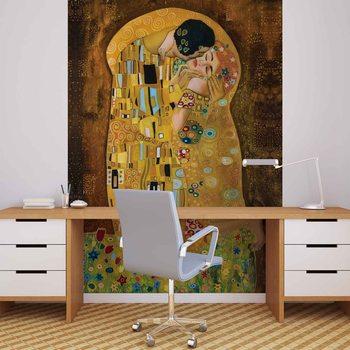 Gustav Klimt Art Kiss Fotobehang