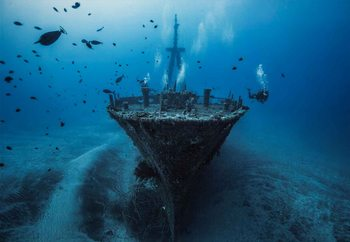 Hai Siang Wreck Fotobehang