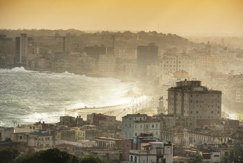 Havana Sunrise Fotobehang