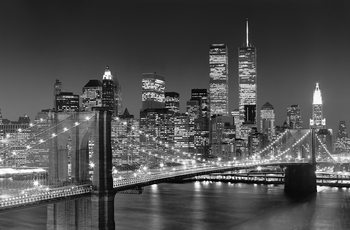 HENRI SILBERMAN – brooklyn bridge Fotobehang