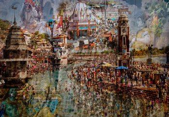 Holy India Fotobehang