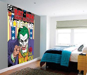 Joker - Vote Me or I'll Kill You Fotobehang