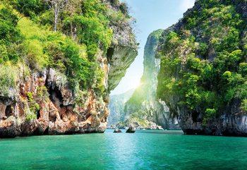 Lagoon Fotobehang