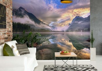 Lake Hintersee Fotobehang