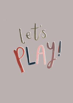 Let's play Fotobehang