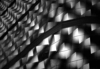 Lights On Facade Peeks Fotobehang