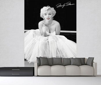 Marilyn Monroe - White Dress Fotobehang