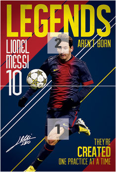 Messi - Legends Fotobehang