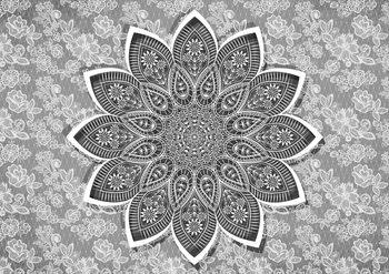 Modern Abstract Pattern Fotobehang