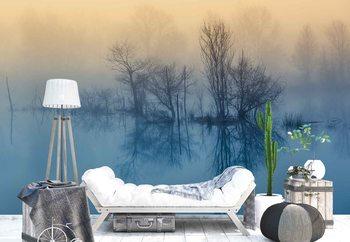 Morning Reflection Fotobehang