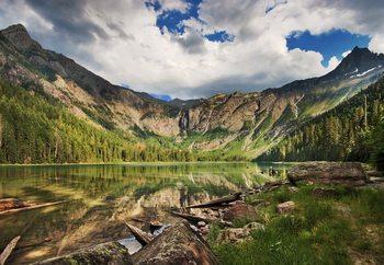 Mountain Paradise Fotobehang
