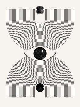 Mystical eye Fotobehang