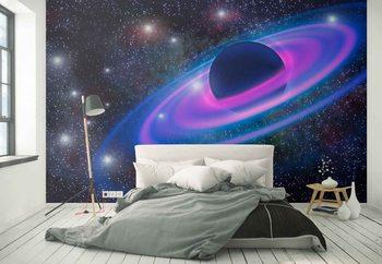 Neon Planet Fotobehang