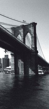 New York - Brooklyn Bridge Fotobehang