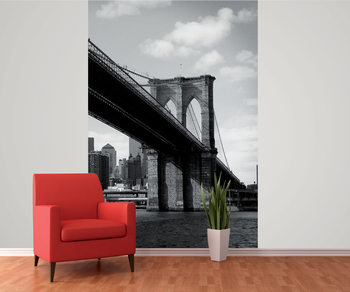 New York - Brooklyn Bridge Fotobehang