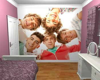 One Direction - Circle Fotobehang