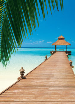 PARADISE BEACH Fotobehang