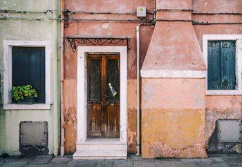 Pastel Street Fotobehang