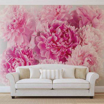 Pink Carnations Fotobehang