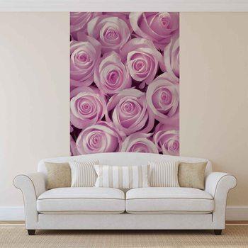 Pink Roses Fotobehang