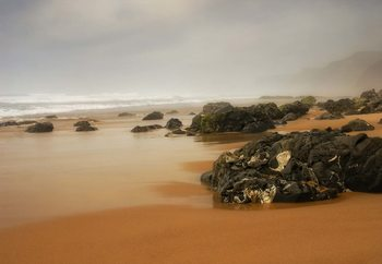 Praia Do Castelejo Fotobehang