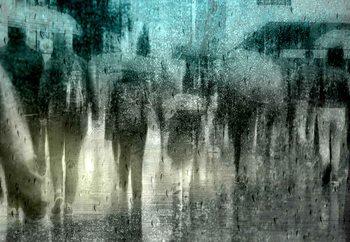 Regen Fotobehang