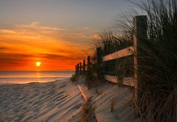 Sandbridge Sunrise Fotobehang