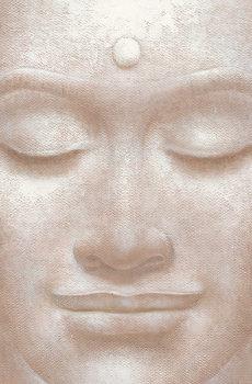 SMILING BUDDHA - wei ying wu Fotobehang