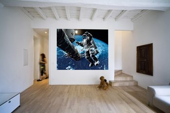 Space cowboy Fotobehang