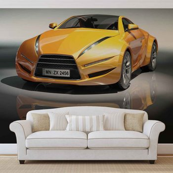 Sports Racing Car Fotobehang