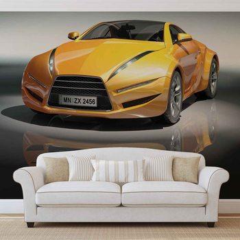 Sports Racing Car Fotobehang