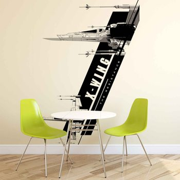 Star Wars Force Awakens X-Wing Fotobehang