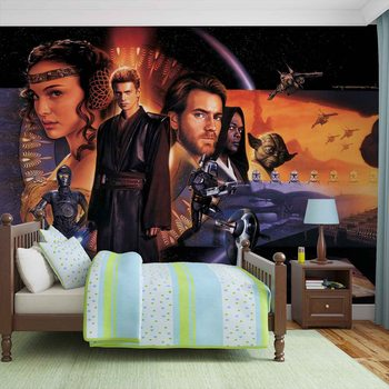 Star Wars Phantom Menace Fotobehang