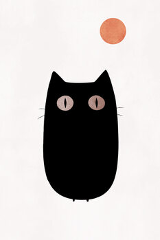 The Cat Fotobehang