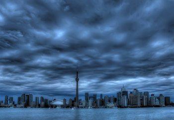 Toronto Blue Fotobehang