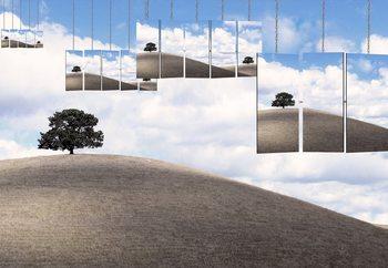 Two Trees Fotobehang