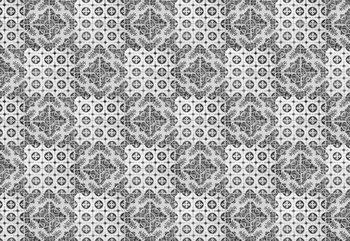 Vintage Tile Pattern Fotobehang