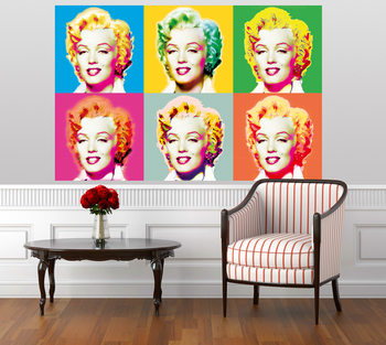 VISIONS OF MARILYN Fotobehang