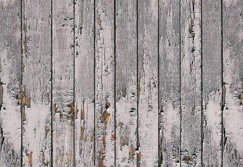 Worn Rustic Wood Plank Texture Fotobehang