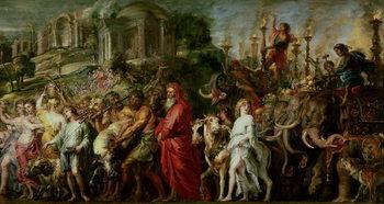 Reprodukcja A Roman Triumph, c.1630