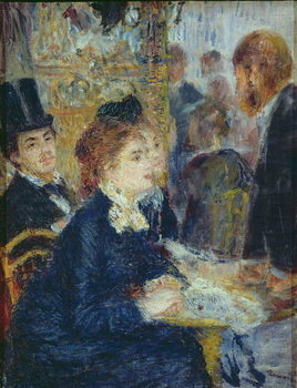 Reprodukcja At the Cafe, c.1877